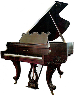 Grand Custom Cherry Piano