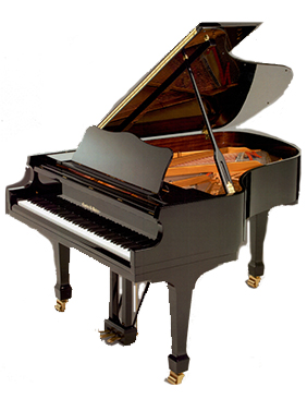 Grand Traditional Ebony Piano